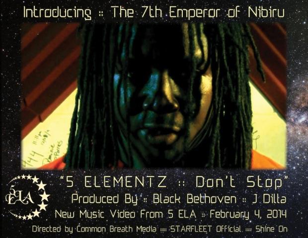 5 ELEMENTZ Dont Stop promo web